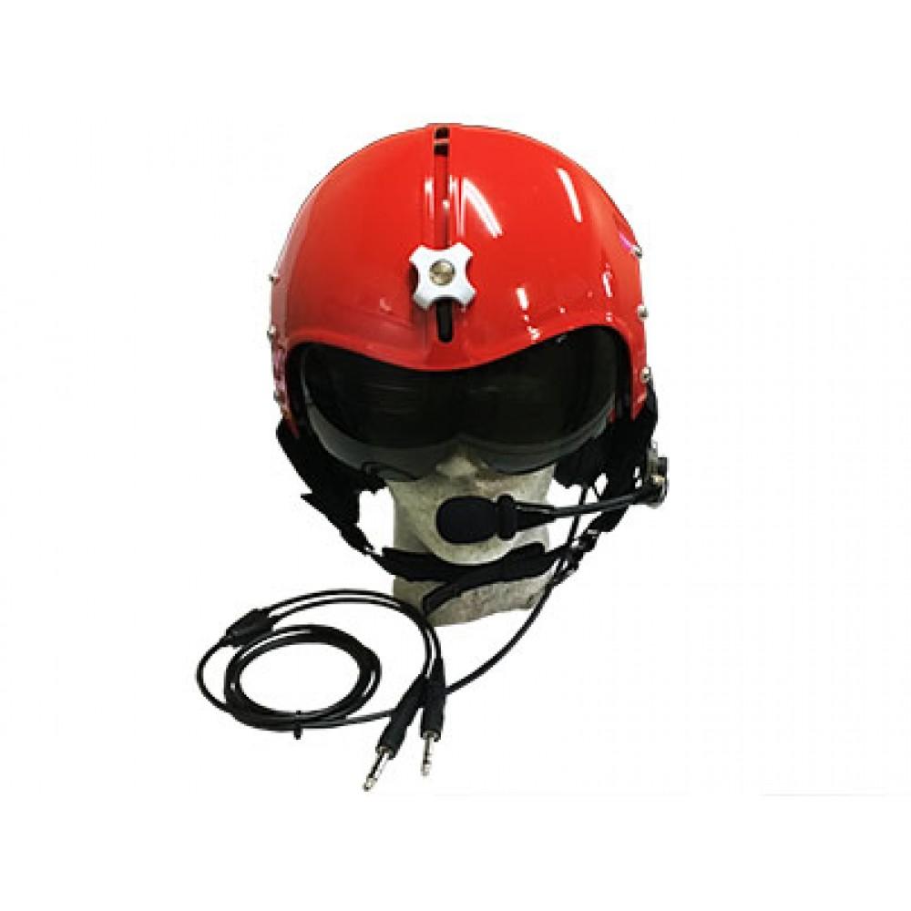 半罩式頭盔 (紅)